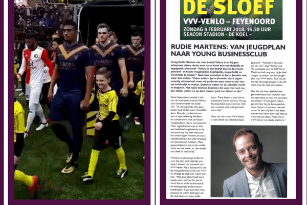Interview in 'De Sloef'